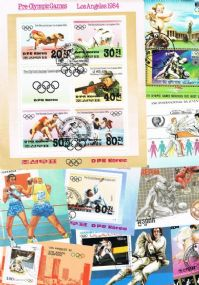 10 different martial arts miniature sheets packet